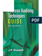 The Process Auditing and Techniques Guide 2nd
