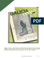 Hernán Quijano. Galicia Mártir. Buenos Aires. 1949