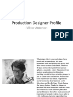 Production Desiginer