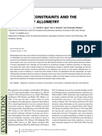 Voje Et Al. - 2014 - Allometric Constraints and the Evolution of Allometry