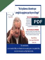 No Le Pidamos Al Docente. Jose Mujica - Copia