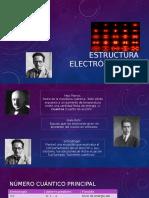 Estructura Electrónica Del Átomo.pptx