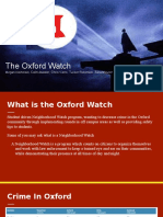 oxford watch