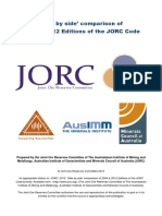 2004 2012 Jorc Codes Side-By-side