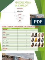Identificación de Elementos Del Costo de Producción