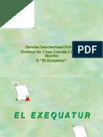 El Exequatur