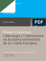 26. Javier Solana. Pensar El Liderazgo. Liderazgo y Gobernanza en La Nueva Estructura de La Unión Europea