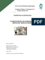 Historia de Los Ceramicos y Materiales Organicos