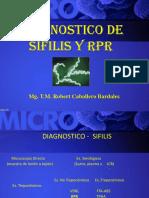 Sifilis y RPR