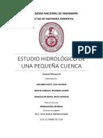Estudio Hidrologico Cuenca 8