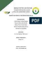 Proyecto Modulo de Biomatematicas