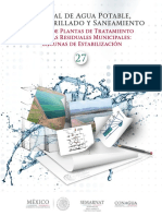 MANUAL MAPAS No. 27_Diseño de PTARM Lagunas de Estabilizacion