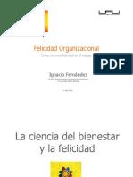 Ignacio Fernández - Felicidad Organizacional
