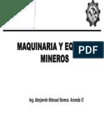 Máquina y Equipo Minero Tema 10 Pala