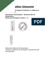 weatherelements