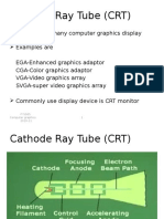 Cathode Ray Tube (CRT)
