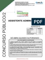 CMTC - Questoes Assistente Administrativo