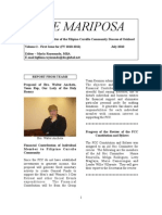 The Mariposa Newsletter - July 2010