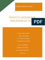 Proyecto Dobladora de Tubos Final