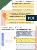 ISO 9001- Parte 8