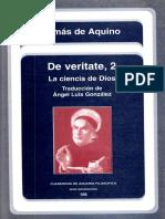 Santo Tomás de Aquino, De Veritate 2