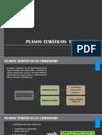 Planos Tematicos en Urbanismo
