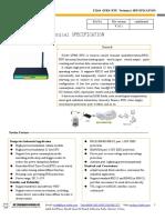 f2164 Gprs Rtu Technical Specification