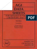 AGI Data Sheets for Geology in the Field