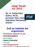 Biologi Tanah (K2 2015)