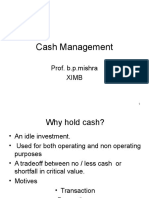 16-Cash Management -.ppt