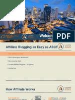 Affiliate Blogging Guide