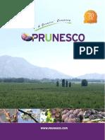 Catalogo Prunesco Chile