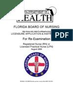 LPN & RN Re-Exam APP