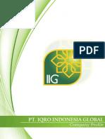 Company Profile_Iqro Indonesia Global_September 2016