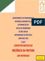 CONCEITOS BÁSICOS DE MECÂNICA DA FRATURA DOS MATERIAIS