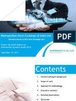 MSEI - System Audit Report - 2014