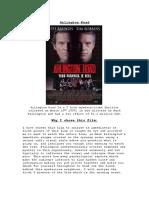 Textual Analysis Arlington Road