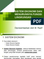 Topik 3 Sistem Ekonomi Dan Menurunnya Fungsi Lingkungan