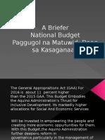 A Briefer - 2016 Budget-1