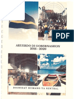 2016 12 15 - Regeringsakoord Kabinet Koeiman-Akuerdo Di Gobernashon 2016-2020 Firma