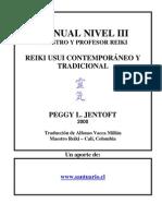Reiki Usui Nivel III