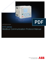 ABB 615 Series Modbus Communication Protocol Manual_L