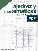 Ajedrez y Matemáticas - Bonsdorff, Fabel & Riihimaa