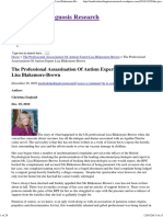 the professional assassination of autism expert lisa blakemore-brown   medical misdiagnosis research