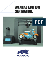 Cura Wanhao Edition User Manuel Rev.A