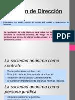 Régimen de Dirección_derecho