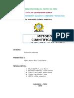 Metodos de Cuantificacion de Impacto Ambiental