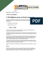 Noose tightens around Iranian companies based in Dubai