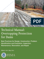 Technical Manual Overtopping Protection for Dams
