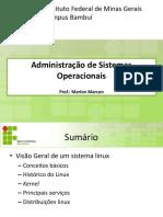 Administração de linux